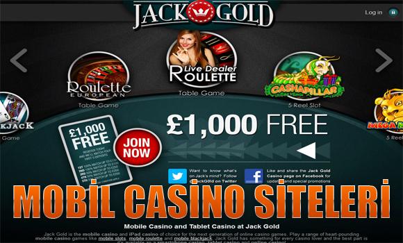 mobil casino siteleri, Yabancı mobil casino siteleri, Güvenilir casino siteleri
