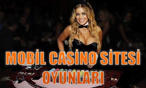 casino oyunlarını cep telefonuyla oynama, Mobil casino oyunları, Mobil casino sitesi oyunları