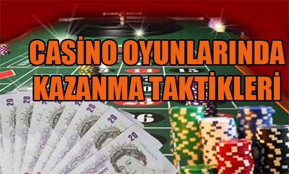 casino oyunlarında kazanma taktikleri, Para kazandıran casino tüyoları, Casino oyunlarında para kazanma stratejisi