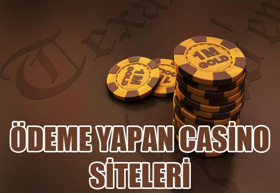 Ödeme yapan casino siteleri, Ödeme yapan yabancı casino siteleri, hangi casino siteleri ödeme yapmaktadır