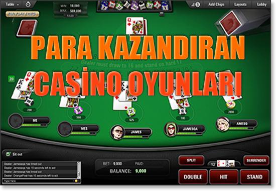 Para kazandıran casino oyunları, En fazla para kazandıran casino oyunları, En fazla para kazandıran casino oyunları hangileri