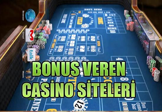 Bonus veren casino siteleri, Bonus veren yabancı casino siteleri, Hangi casino siteleri bonus veriyor